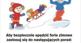 """""""Bezpieczne Ferie 2018"""" - spotkania policjantów z uczniami w szkołach"""
