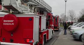 Pożar piwnicy przy Iwaszkiewicza