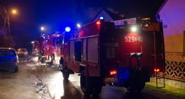 Pożar lakierni przy Ogrodowej