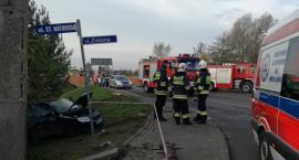 Wypadek - Zablokowana droga Janików – Oława