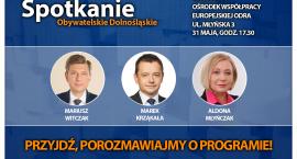 Spotkanie #ObywatelskieDolnoslaskie. Przyjdź, porozmawiaj o Polsce