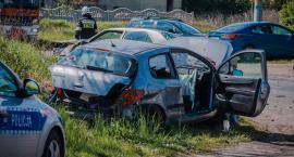 Wypadek w Wierzbnie. Cztery osoby ranne