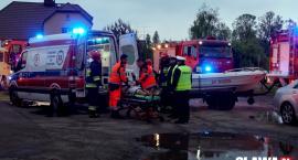 Groźnie w Janikowie. Zderzenie dwóch aut