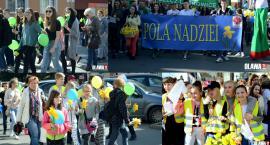 Wsparli podopiecznych żonkilowym marszem