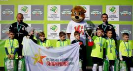 """Reprezentacja powiatu na turnieju """"Z Podwórka na Stadion o Puchar Tymbarku"""""""