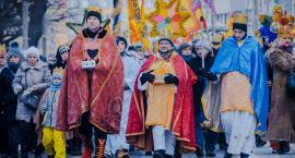 Barwny oławski Orszak Trzech Króli