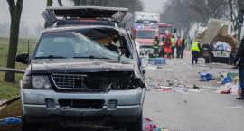 Śmiertelny wypadek na granicy powiatów [VIDEO]