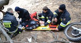 Symulowali wypadki, aby uczyć się ratować życie