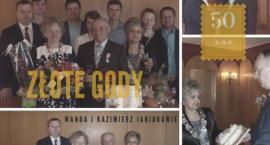 Złote Gody Wandy i Kazimierza Janiuk