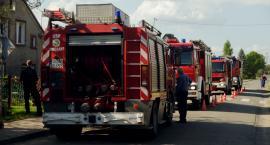 Pożar w Osieku. Spłoneło poddasze domu