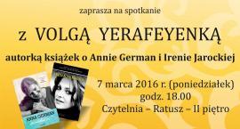 Spotkanie z autorką książek o Annie German i Irenie Jarockiej