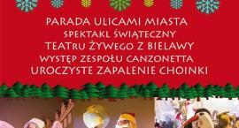 Parada świąteczna ulicami miasta