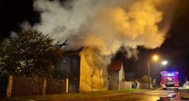 Pożar w Dębinie. Płonęła stodoła