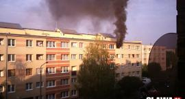 Dwa wybuchy i pożar na 3 Maja. Mieszkańcy ewakuowani