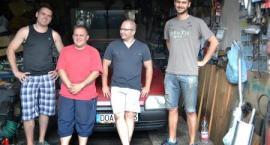 """""""Škoda Gadač Team"""" i ich Złombolowa przygoda"""