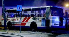 Bystrzyca: Spłonął autobus PKS Oława