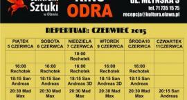 Repertuar kina Odra w miesiącu czerwcu