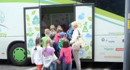 Energetyczny autobus w rynku