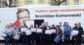 Bronkobus zatrzymał się w Oławie