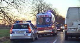Fiat dachował w Godzikowicach. Droga była oblodzona