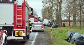Wypadek pod Jankowicami - 5 osób poszkodowanych [VIDEO]