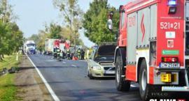 Groźny wypadek w Marcinkowicach