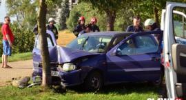 Zasłabła za kierownicą i uderzyła w drzewo