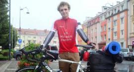 18-latek pokonał 1617 km rowerem z Southampton do Oławy [VIDEO]