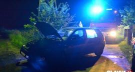 Bystrzyca Oławska - Uderzył w hydrant i uciekł