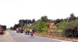 Będzie chodnik w Bystrzycy - trwa budowa