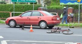 Potrącenie rowerzysty na ul. Lipowej