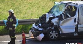 Wypadek na A4. 7 osób trafiło do szpitala