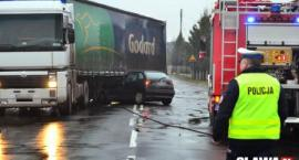 [Wypadek] Kierowca wymusił pierwszeństwo