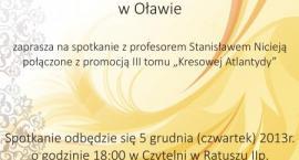 Stanisław Nicieja w Oławie