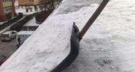 Komunikat PINB - usuwaniem śniegu z dachu