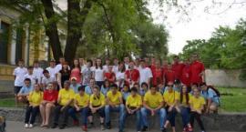 Młodzież z Gaci na Ukrainie