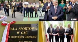 Złoty okres dla rozwoju sportu w powiecie. Wójt otwiera halę sportową w Gaci