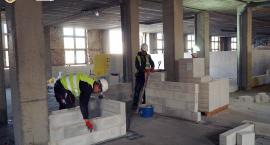 Trwa budowa przy Centrum Terapeutyczno-Rehabilitacyjnym