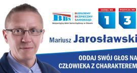 Mariusz Jarosławski kandydat do Rady Miejskiej w Oławie