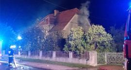 Pożar pustostanu w Jelczu-Laskowicach