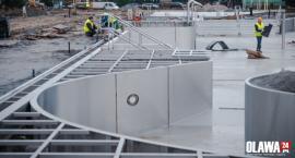 Budowa basenu idzie zgodnie z planem, a nawet lepiej