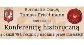 Konferencja historyczna w Oławie