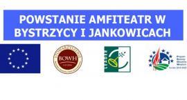 Amfiteatr i wiaty staną w Bystrzycy i Jankowicach