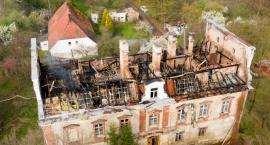 Straty po pożarze są bardzo duże. ZOBACZ VIDEO