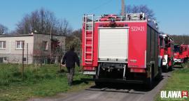 Strażacy interweniowali na Zwierzyńcy Dużym