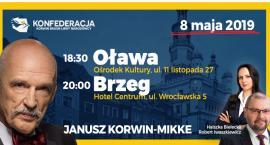 Janusz Korwin-Mikke przyjedzie do Oławy
