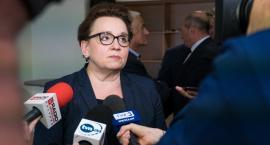 Minister przyjechała do Oławy, nauczyciele byli oburzeni