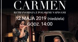"""Retransmisja """"Carmen"""" z Aleksandrą Kurzak w Kinie Odra"""