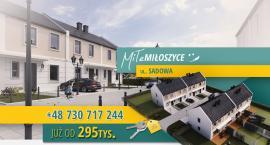 Szukasz domu w okolicach Oławy lub Jelcza-Laskowic? Chcesz odpoczywać w ciszy i spokoju? Domy w Miłoszycach to idealna lokalizacja w kameralnym otoczeniu.