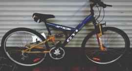Znaleziony rower czeka na policji